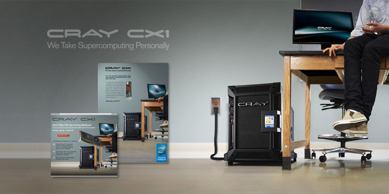 Cray CX1: We Take Supercomputing Personally