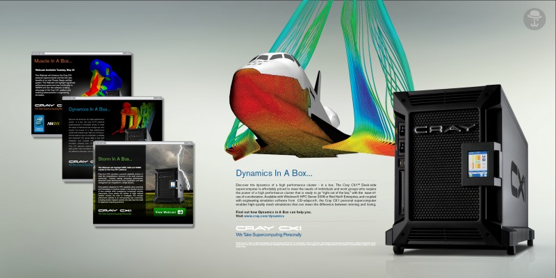 Cray CX1 Dynamics In A Box Campaign