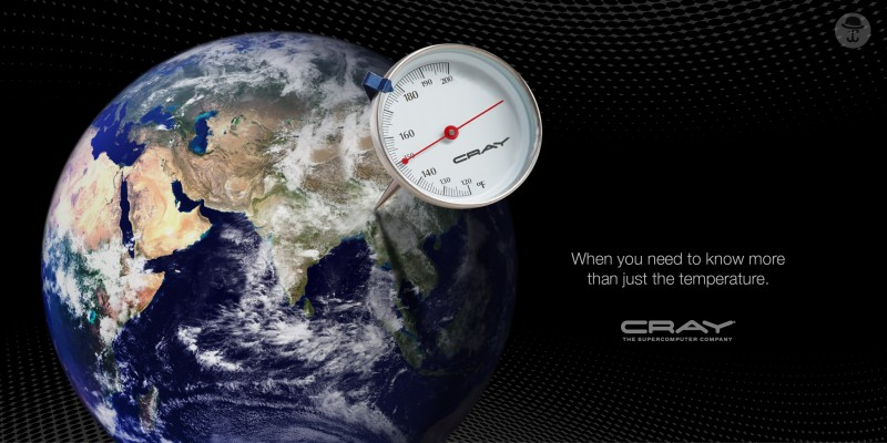 Cray's Climate Modeling Campaign